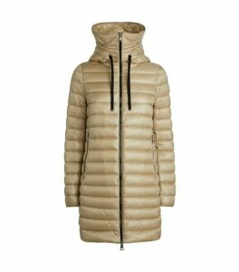 Moncler Rubis Long Quilted Jacket