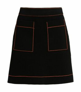 Sandro Paris Knitted A-Line Skirt