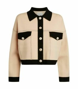 Sandro Paris Crop Cardigan