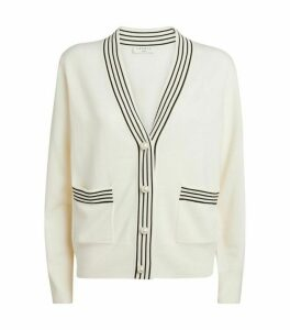 Sandro Paris Wool-Cashmere Cardigan