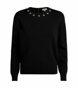Claudie Pierlot Embellished Sweater
