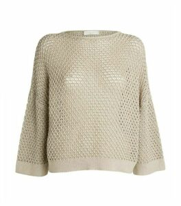 Fabiana Filippi Wide-Sleeve Sweater