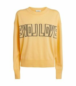 Sandro Paris Love Wool-Cashmere Sweater