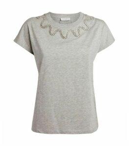 Sandro Paris Embellished T-Shirt