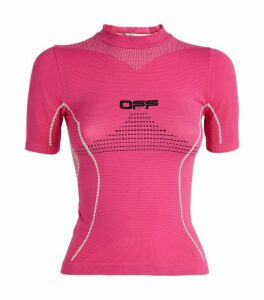 Off-White Active Short-Sleeved Top