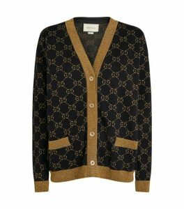Gucci Wool-Rich Interlocking G Cardigan