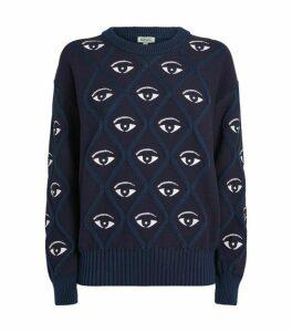 Kenzo Eye Logo Knit Sweater