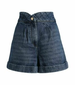 Sandro Paris Denim Mini Shorts