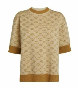Gucci Wool-Rich Interlocking G Sweater