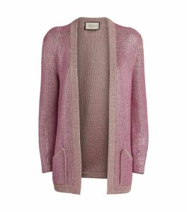 Gucci Crystal-Embellished Cardigan
