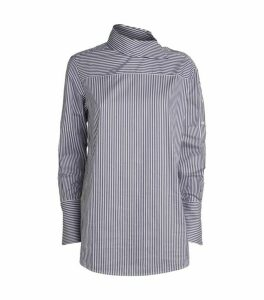 Victoria Beckham Asymmetric Stripe Shirt
