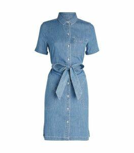 Barbour Belted Denim Dress