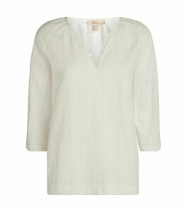Barbour Broderie Anglaise Smock Top