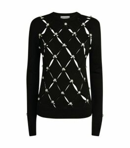 Paco Rabanne Beaded Sweater