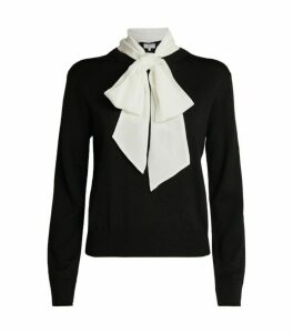 Claudie Pierlot Pussybow Sweater