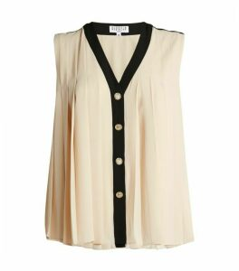 Claudie Pierlot Pleated Top