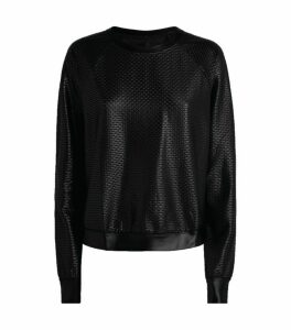 Koral Sofia Shiny Netz Sweatshirt