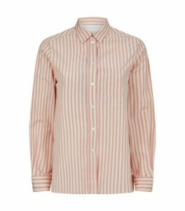 Weekend Max Mara Cotton Gong Stripe Shirt