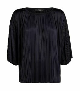 Weekend Max Mara Fiocchi Pleated Blouse