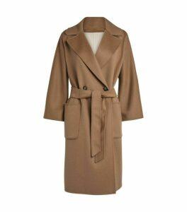Weekend Max Mara Wool-Blend Belted Coat