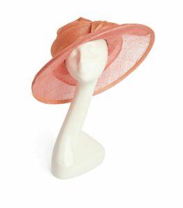 MARZI Sinamay Knot-Detail Hat