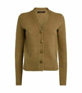AllSaints Ruffa Wool-Blend Cardigan