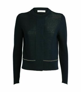 Fabiana Filippi Jewel Trim Cardigan