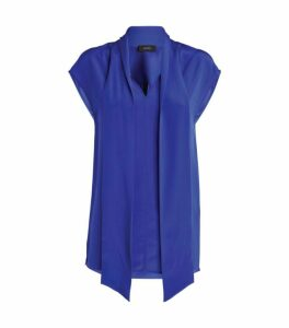 Joseph Nancy Crepe de Chine Blouse