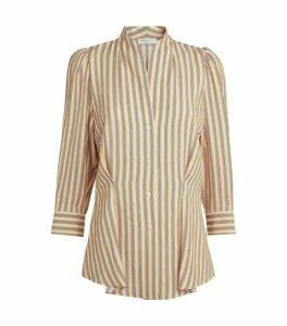 Sandro Paris Striped Tunic Shirt
