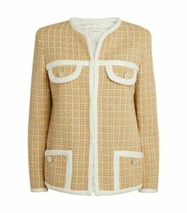 Sandro Paris Tailored Tweed Jacket