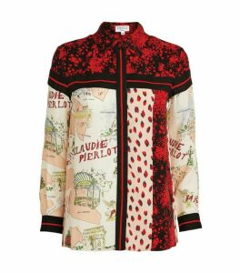 Claudie Pierlot Panel Print Shirt