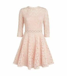 Claudie Pierlot Long-Sleeved Lace Mini Dress