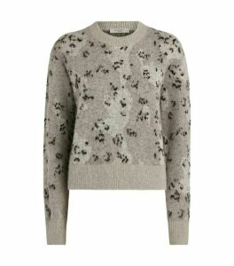 AllSaints Asko Camouflage Sweater