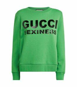 Gucci SEXINESS Slogan Sweatshirt