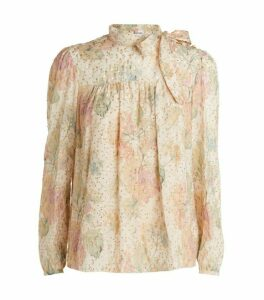 RedValentino Coupe Floral Blouse