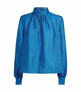 Stine Goya Eddy High-Neck Blouse