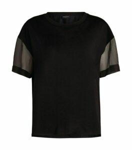 Piazza Sempione Organza Sleeves T-Shirt