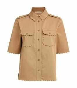 Tory Burch Cotton Safari Shirt