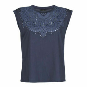 Desigual  BUDAPEST  women's T shirt in Blue