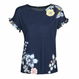 Desigual  MUNICH  women's T shirt in Blue