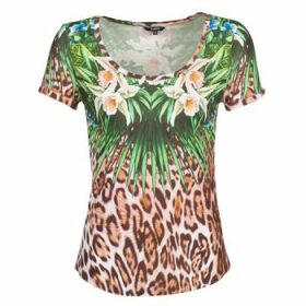 Desigual  JUNGLE  women's T shirt in Multicolour