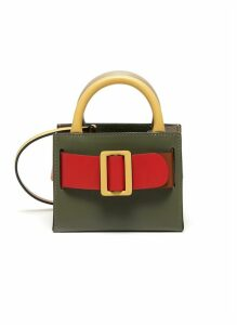 'Bobby' Mini Buckled Leather Satchel