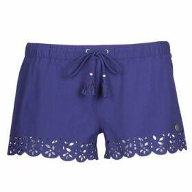 Banana Moon  MEOW  women's Shorts in Blue