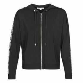 MICHAEL Michael Kors  MK GRAPH ZIP HOODIE  women's Sweatshirt in Black