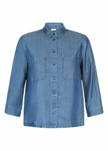 Tabitha Tencel Shirt Dark Indigo