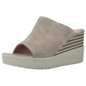 Stonefly  ELY 4 VELOUR  women's Mules / Casual Shoes in Beige