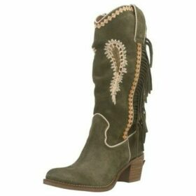 Nemonic  2159N  women's High Boots in Green