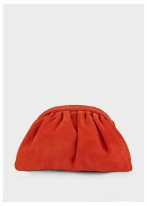 Iona Clutch Bag Flame Red