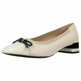 Geox  D CHLOO M. C  women's Shoes (Pumps / Ballerinas) in White
