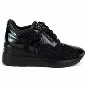 Geox  Zosma  women's Shoes (High-top Trainers) in Black